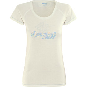 Bergans Tee Ladies White/Summerblue/Alu